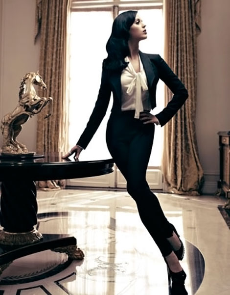 Katy Perry Harper s Bazaar US December 2010