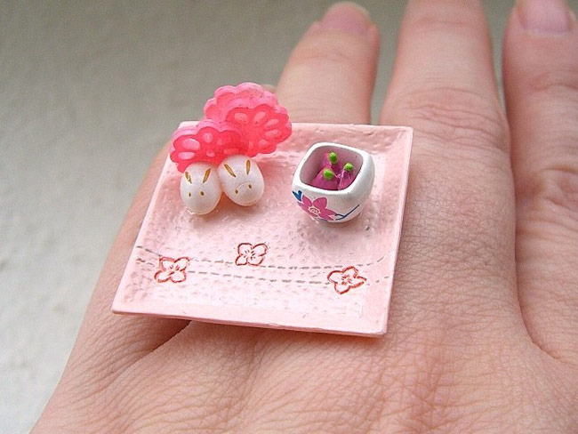 Kawaii floating rings SouZou Creations 2