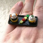 Kawaii floating rings SouZou Creations eggs