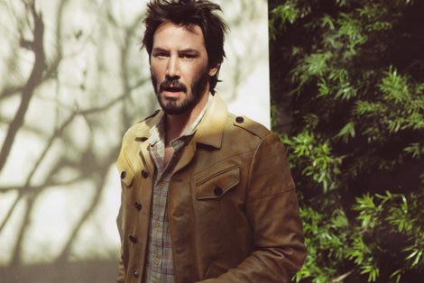 Keanu Reeves Vogue hommes international