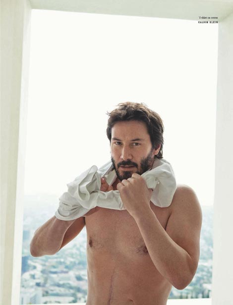 Keanu Reeves Vogue international