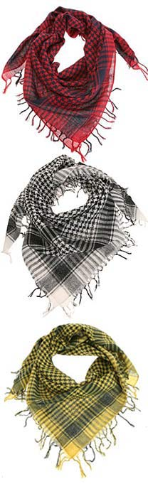 Keffiyeh - Shemagh - Desert Scarf at Urban Outfitters