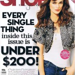 Keira Knightley Shop til you drop January 2010 cover