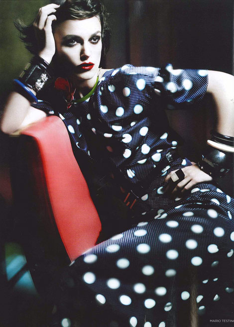 Keira Knightley Vogue UK January 2011 Mario Testino