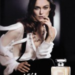 Keira Knightley Coco Mademoiselle 2009 ad