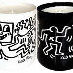 keith haring perfumed black and white candles