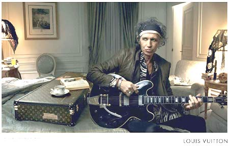 Keith Richards for Louis Vuitton 2008 by Annie Leibovitz