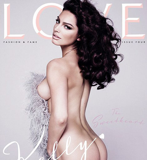 Kelly Brook Love Four Cover