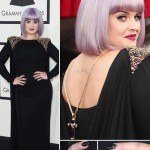 Kelly Osbourne 2014 Grammy Awards hair nails jewelry