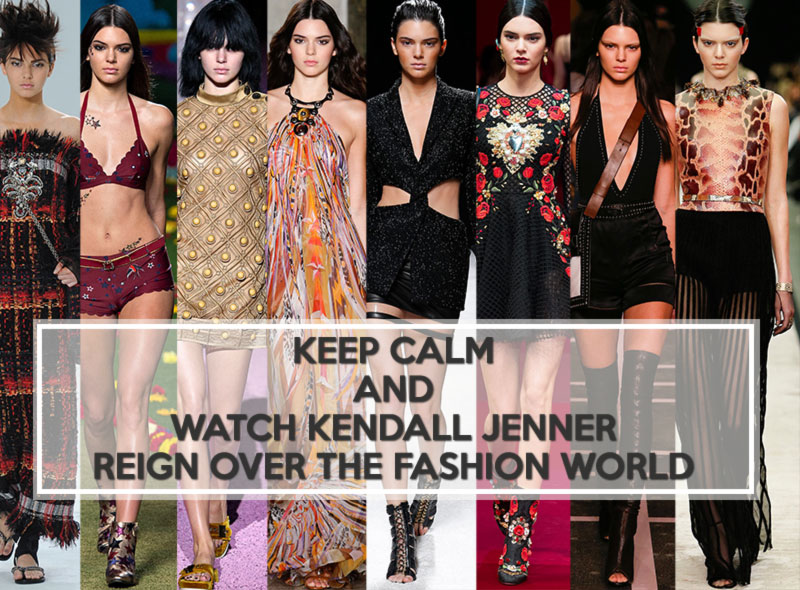 Kendall Jenner catwalk fashion week Fall 2014 Spring 2015