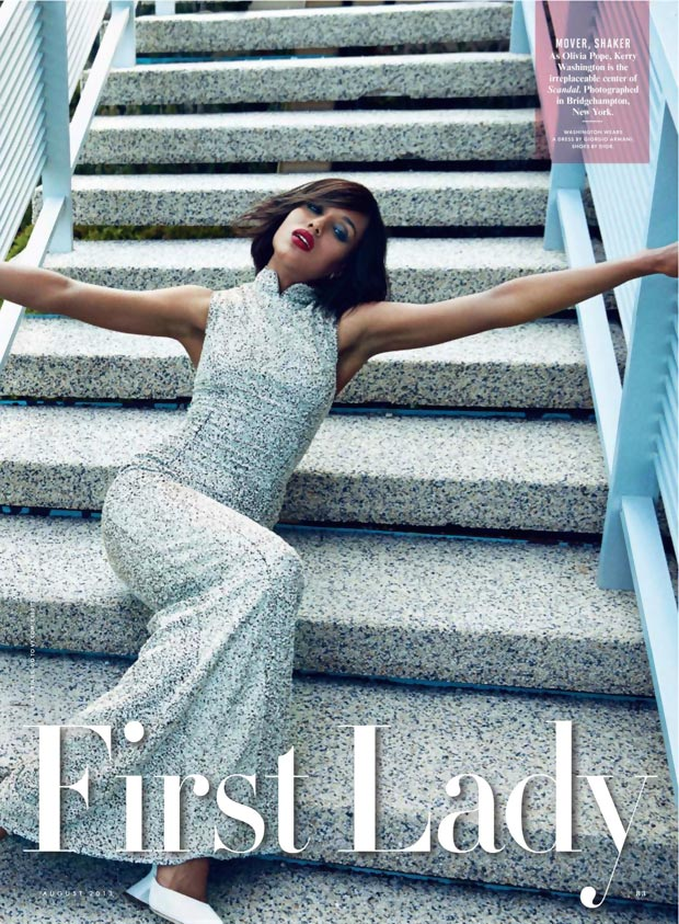 Kerry Washington Vanity Fair August 2013