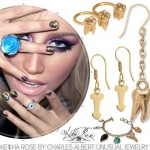 Kesha Rose unusual jewelry by Charles Albert