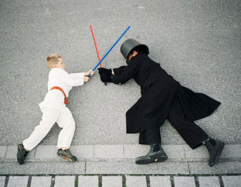 kids Star Wars photography