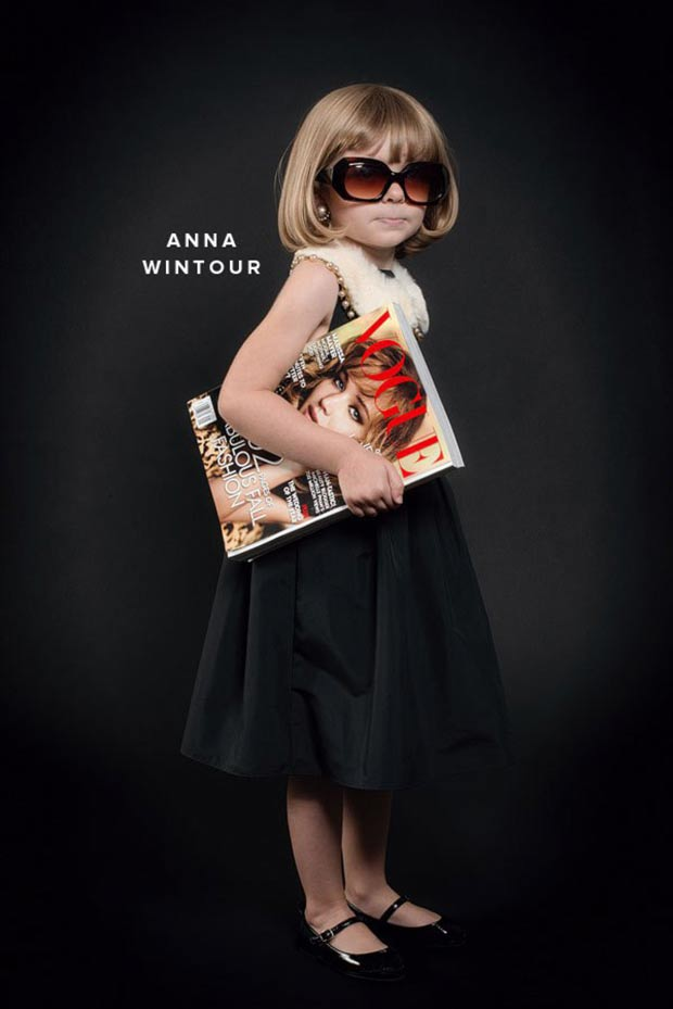 Kids fashion costumes Anna Wintour OhHappyDay
