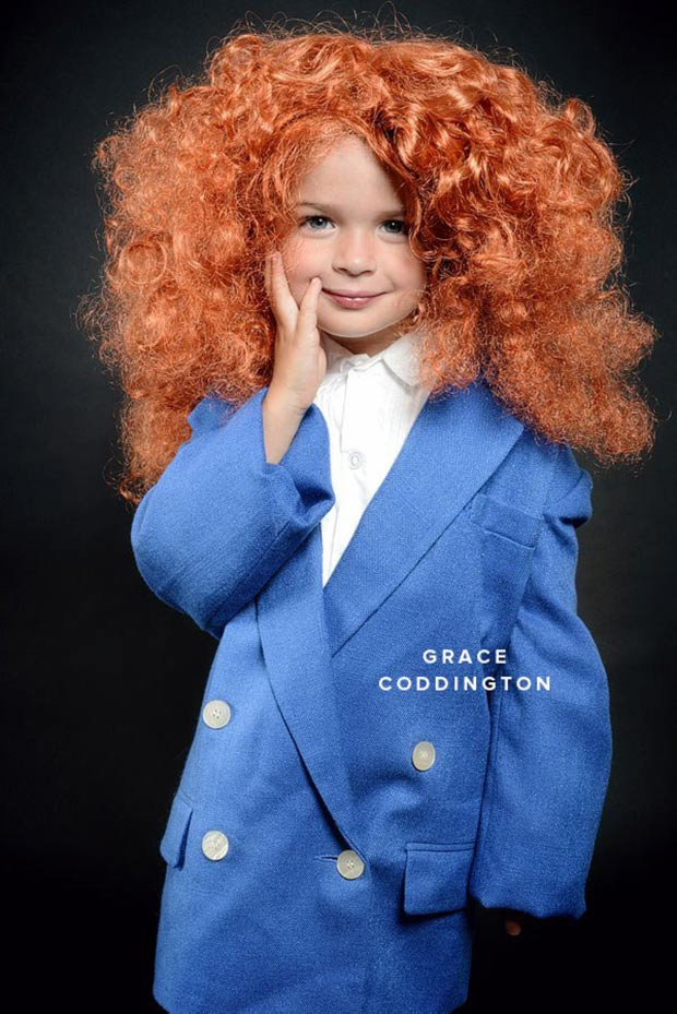 Kids fashion costumes Grace Coddington OhHappyDay