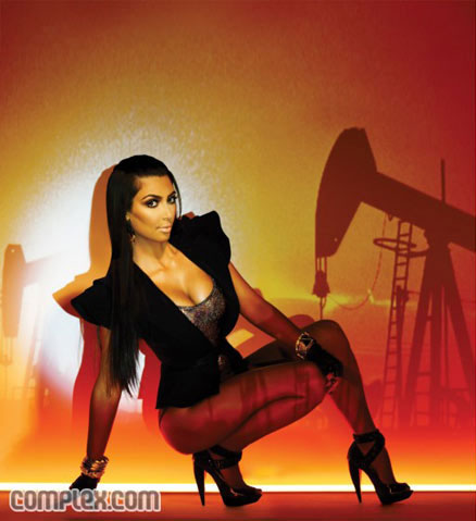 Kim Kardashian Complex Magazine photo