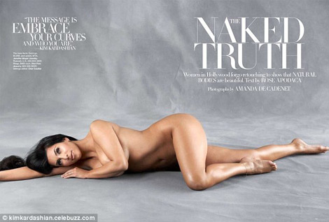 Harper&#8217;s Bazaar Naked Truth Vs. Allure&#8217;s Bare It All May 2010