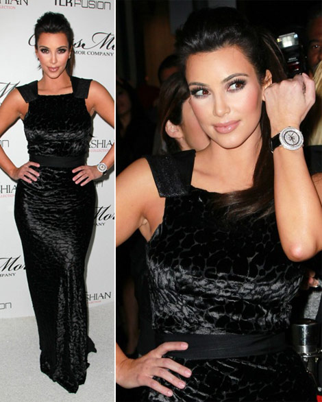 Kim Kardashian launches watches collection
