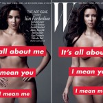 Kim Kardashian W November 2010 covers large