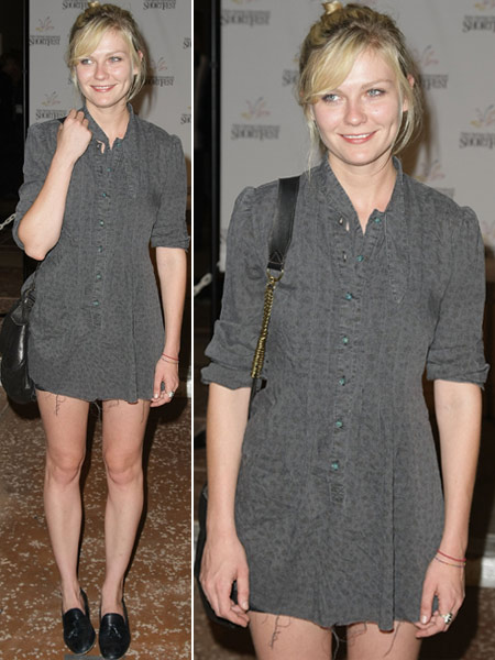 Kirsten Dunst Palm Springs Gray Disaster