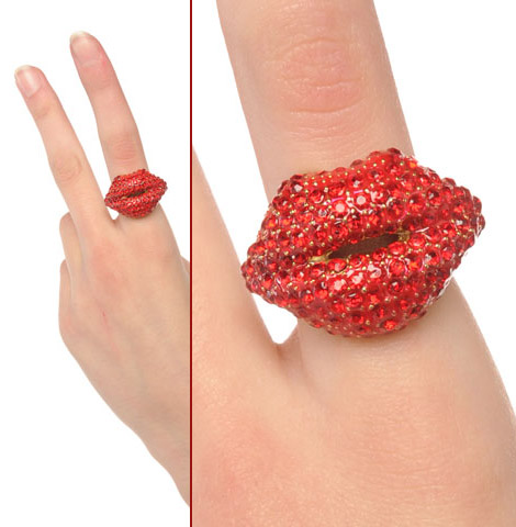 Dare To Wear The Kiss Me Crystal Ring?