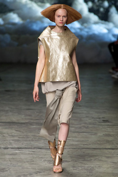 knot trend Summer 2013 Rick Owens 5 Summer Fashion Staples From Rick Owens Spring 2013