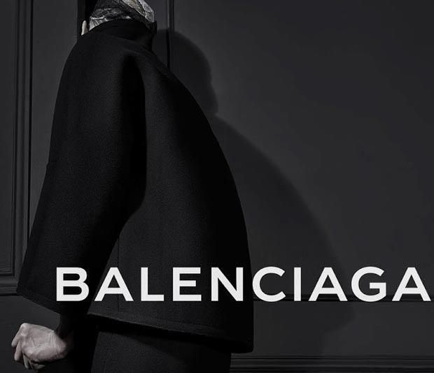 Kristen McMenamy Hides Face In Balenciaga New Ad Campaign