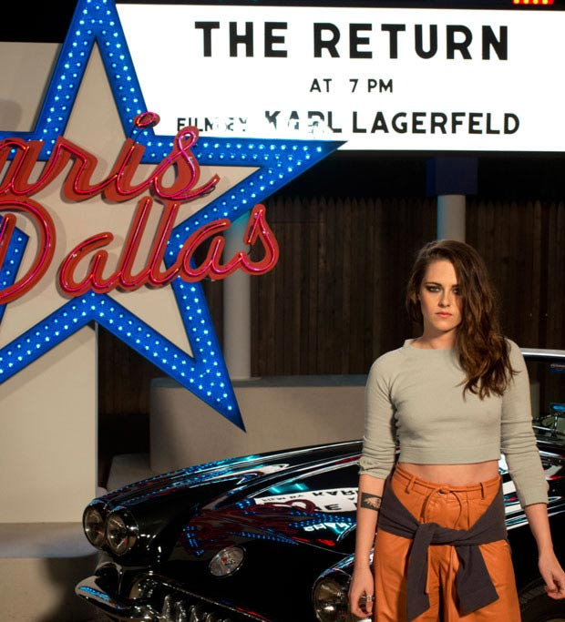 Kristen Stewart Chanel Dallas presentation