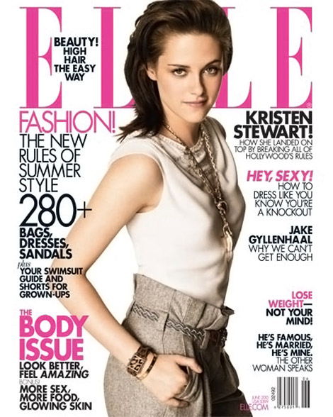Kristen Stewart Elle June 2010 cover. Hoping one bright day Kristen Stewart