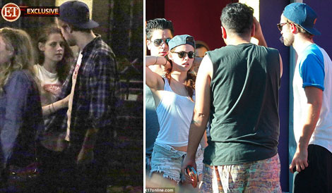 Kristen Stewart And Robert Pattinson Back Together. Proof In Photos