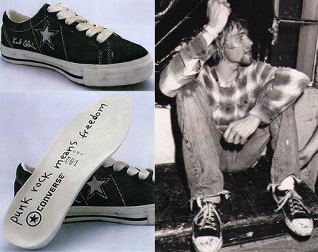 Kurt Cobain Converse – Grunge is Back?