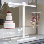 Kyle Bean Selfridges windows cake