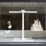 Kyle Bean Selfridges windows paper castle