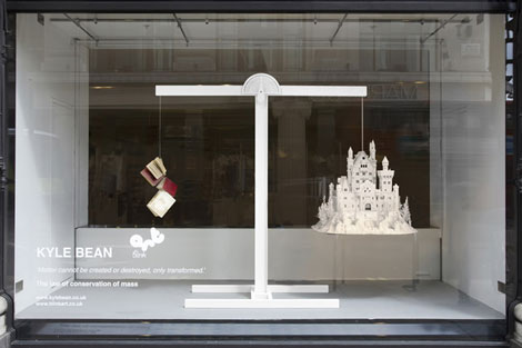 Kyle Bean's Selfridges Windows