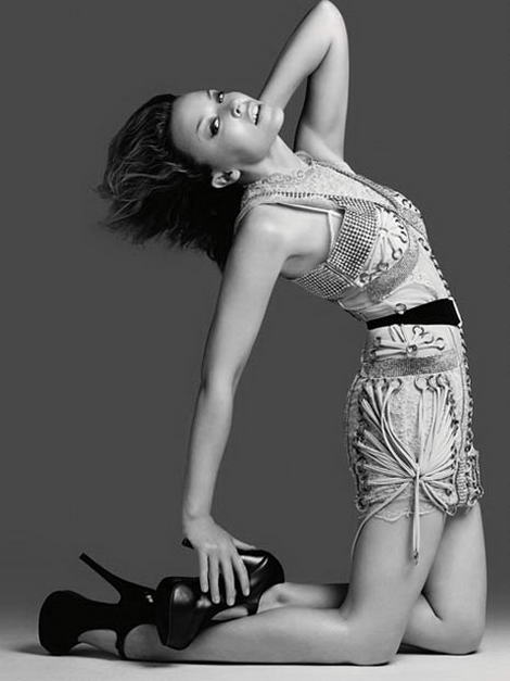 Kylie Minogue AnOther Magazine fw 09