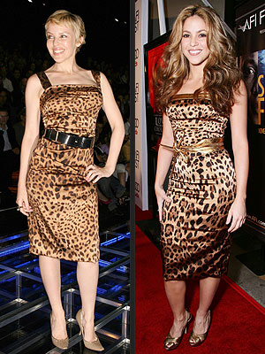 Kylie Minogue and Shakira not only share