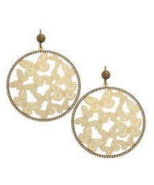 The L.K. Designs Butterfly Earrings Max&Chloe