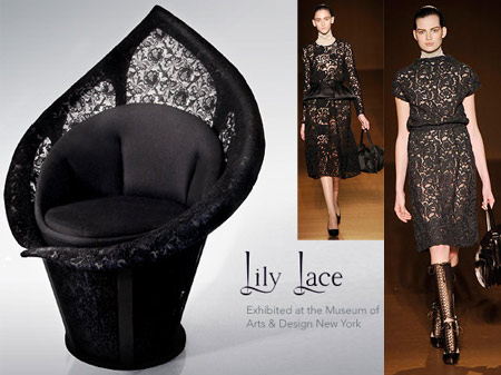 Lace Trend From Prada To Furniture