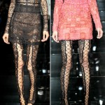 lace thigh high boots from Tom Ford Spring Summer 2014