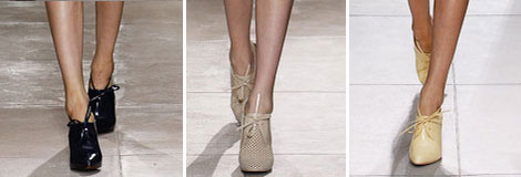 lace up shoes Balenciaga Spring 2013