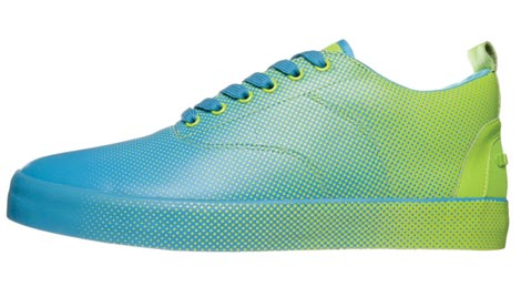 Lacoste Dot Fade Pack 2009 blue green
