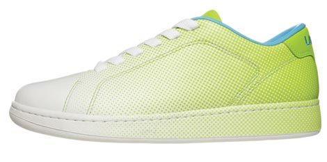 Lacoste Dot Fade Pack 2009 white green