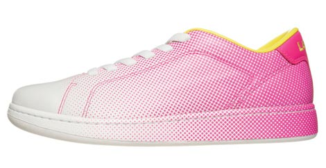 Lacoste Dot Fade Pack 2009 white pink