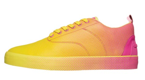 Lacoste Dot Fade Pack 2009 yellow pink