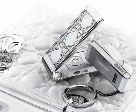 $27,000 Glamophone With The Lady Dior Cell Phone!