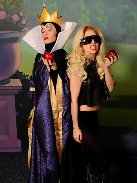 Lady Gaga evil Queen Snow White