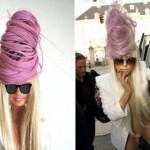Lady Gaga Barbie Doll purple hair