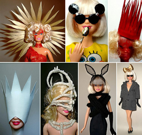 Lady Gaga Barbie dolls