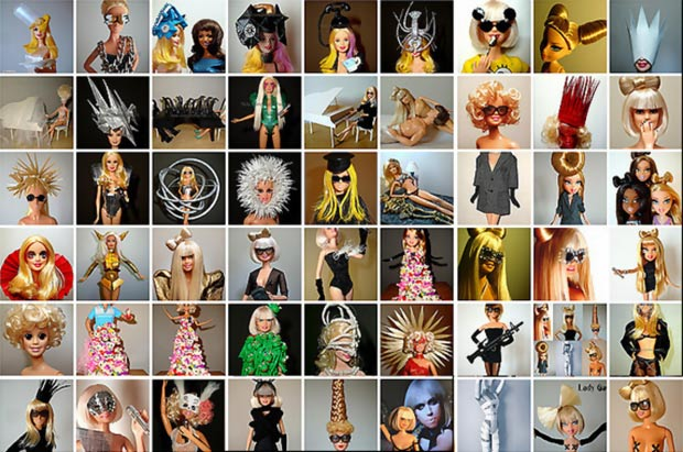 Lady Gaga dolls by Lu Wei Kang