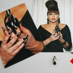lady Gaga fake nail auctioned off for 12k